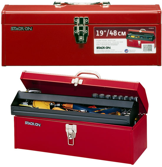 Stack-On 19-Inch Steel Tool Box