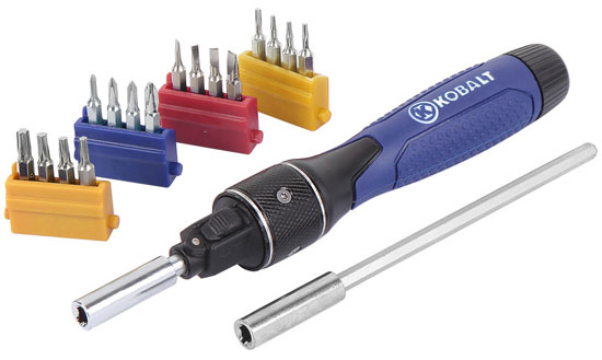 Kobalt Double Drive Precision Screwdriver Set