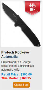 Blade HQ Black Friday 2013 07 Protech Rockeye Automatic Deal