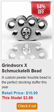 Blade HQ Black Friday 2013 18 Grindworx X Schmuckatelli Bead Deal