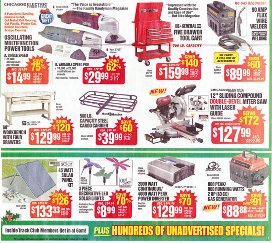 Harbor Freight Black Friday 2013 Tool Deals Page 2