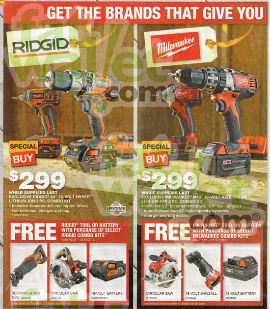 Home Depot Black Friday 2013 Tool Deals Page 12