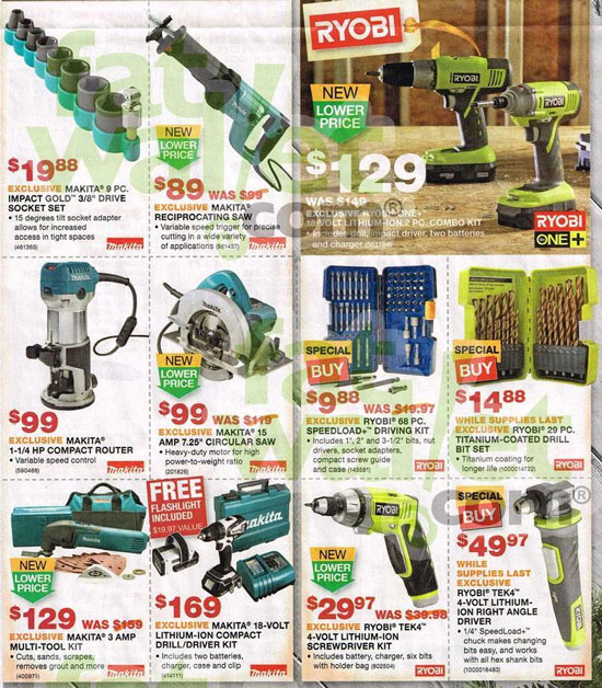 Home Depot Black Friday 2013 Tool Deals Page 14