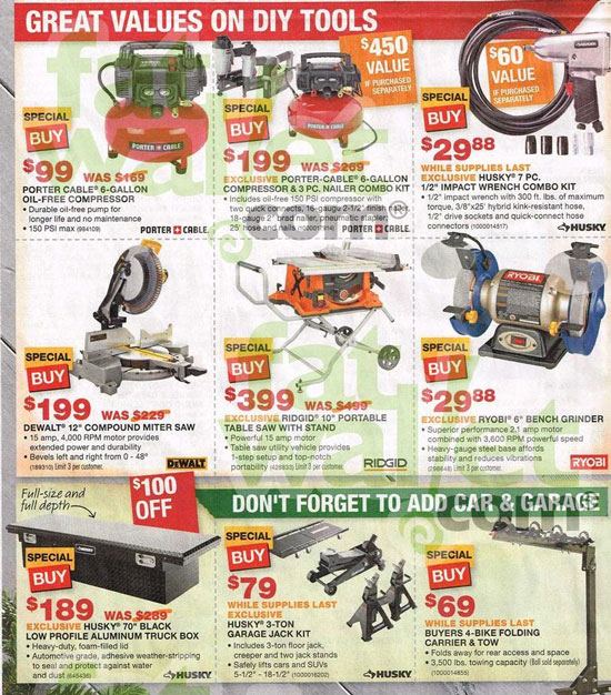 Home Depot Black Friday 2013 Tool Deals Page 3