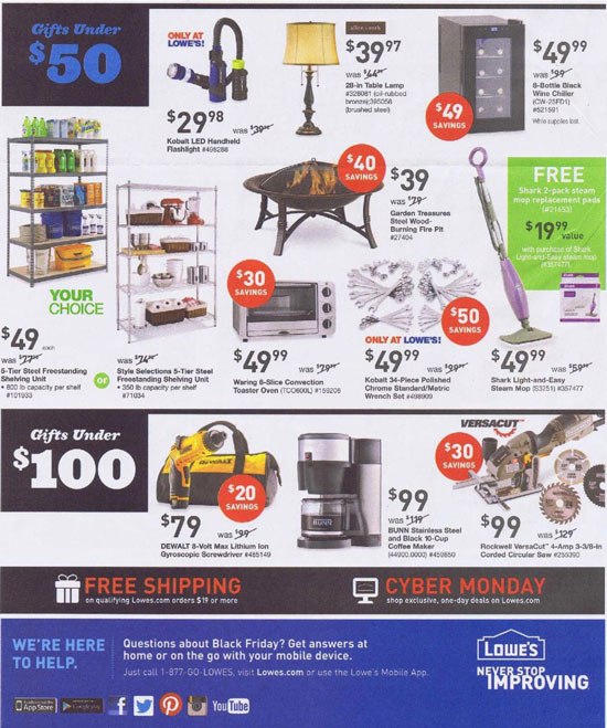 Lowes Black Friday 2013 Tool Deals Page 10