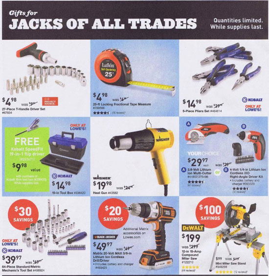 Lowes Black Friday 2013 Tool Deals Page 3