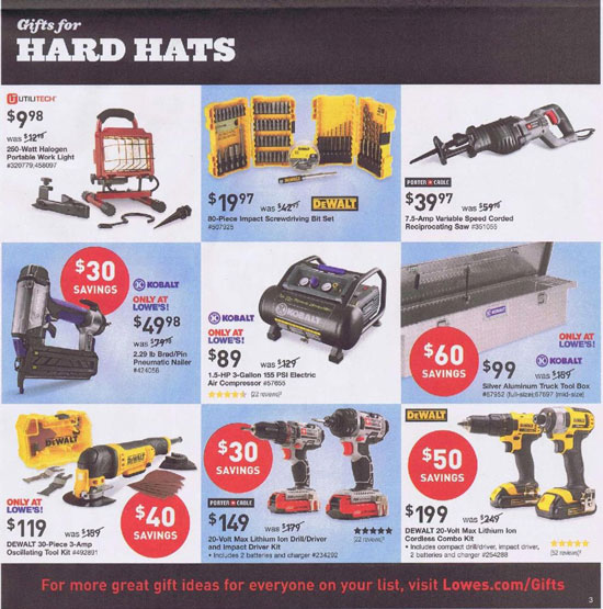 Lowes Black Friday 2013 Tool Deals Page 6