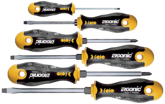 Felo Ergonic Screwdriver Set