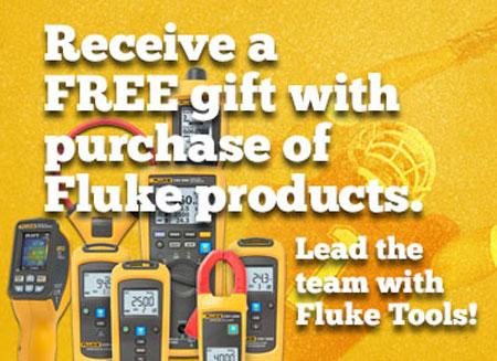 Fluke Free Gift Holiday 2013 Promo