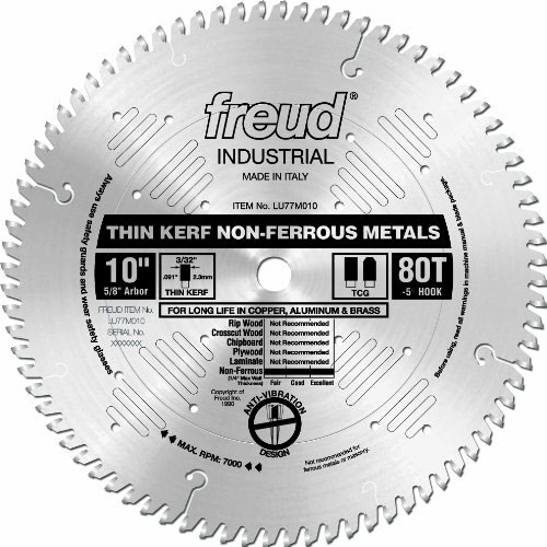 Freud Non-Ferrous Miter Saw Blade LU77M010