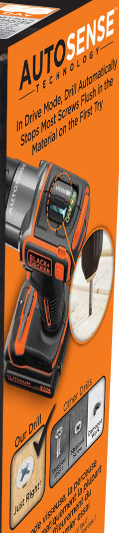 Black and Decker AutoSense