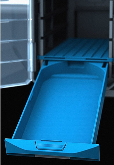 BluCave Drawer with Divider