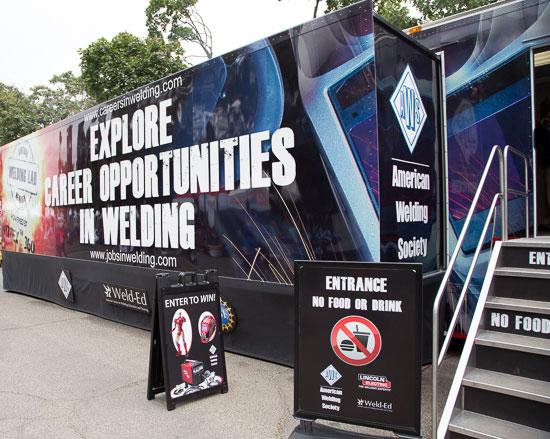 American Welding Society Promo Truck