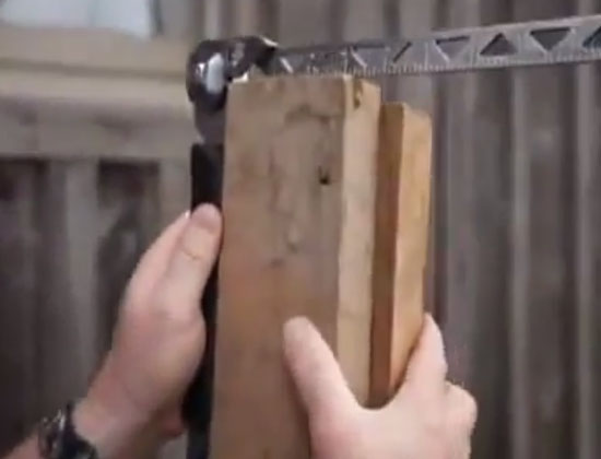 Cole-Bar Hammer Ruler and Square