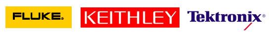 Danaher Fluke Keithley Tektronix Logos