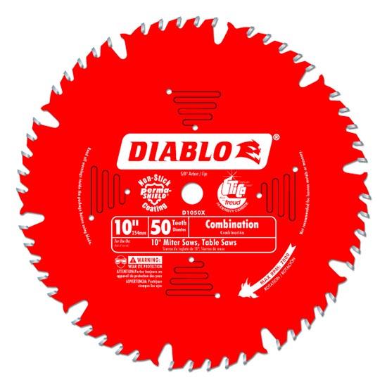 Diablo D1050X Combination Circular Saw Blade