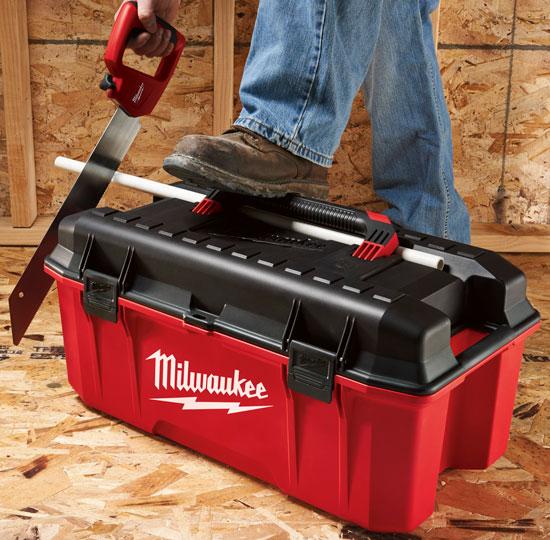 Milwaukee 48-22-8020 Tool Box Pipe Groove