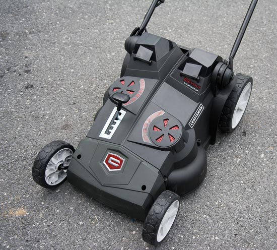 Craftsman 40v mower top view