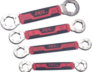 Skil Secure Grip Wrench Set