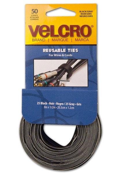 Velcro Reusable Ties