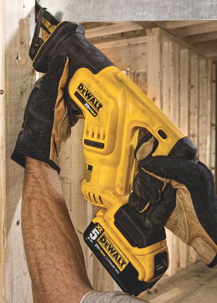 Dewalt DCS387 Compact Reciprocating Saw