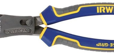 Irwin 1902412 Max Leverage diagonal cutting pliers with PowerSlot