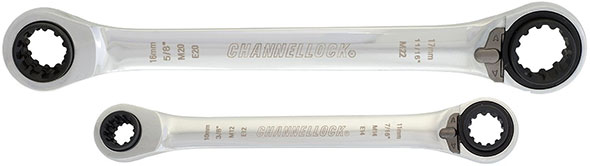 Channellock Uni-Fit Ratcheting Wrenches Loose