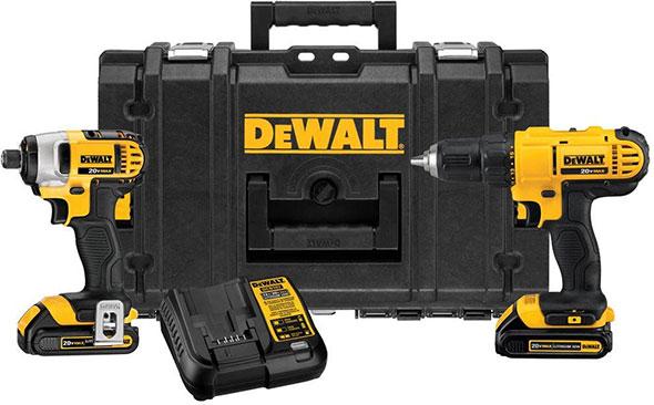 Dewalt DCKTS240C2 Drill Impact Tool Box Combo Kit