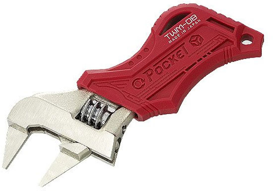 Engineer Pocket Thin Jaw Adjustable Wrench