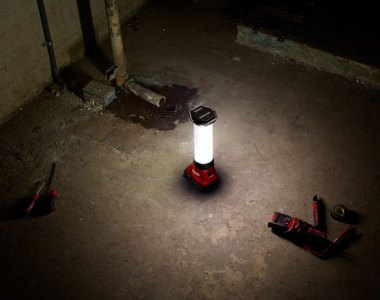Milwaukee M18 TrueView LED Lantern Beam Pattern