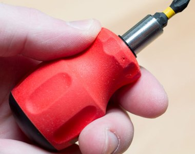 PB Swiss Stubby Bit Holder Screwdriver with Bit