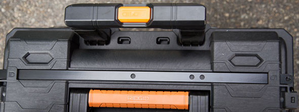 Ridgid Pro Tool Box Cart Lock Bar Storage