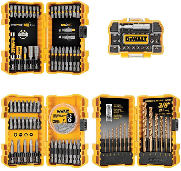 Dewalt 130pc Drilling and Driving Bit Set