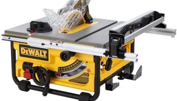 Secret upgrade dewalt dw745 table saw now has 20 inch rip capacity price drop dewalt 10 portable table saw for 225 greentooth Images