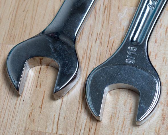 Facom 440 Combination Wrench Open End Comparison