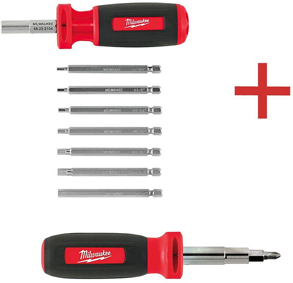 Home Depot Milwaukee Screwdriver Bundle Pack