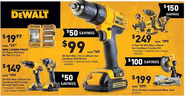 Lowes Black Friday 2014 Tool Deals Page 1