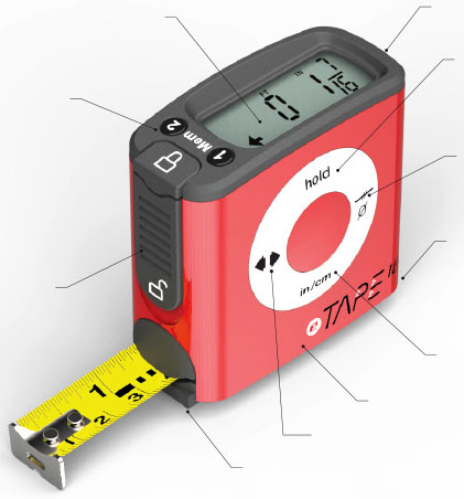 ETape Digital Tape Measure
