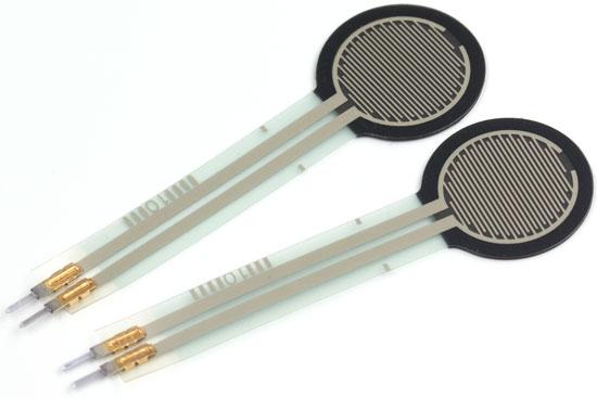 Pressure Sensors Force-Sensitive Resistors