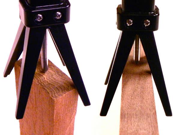 Blokkz Squid woodworkers center punch examples