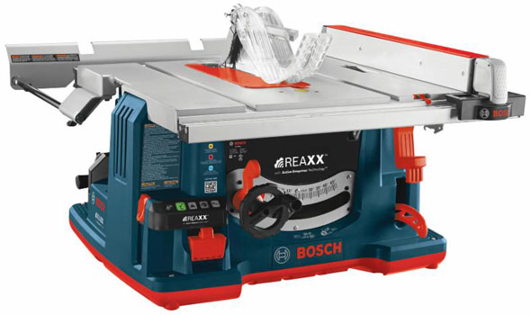 Bosch REAXX GTS1041A Table Saw