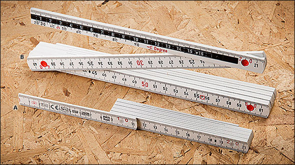 Lee Valley Swiss Made Folding Rulers