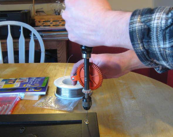 Schroeder hand drill with a Sixteenth inch bit