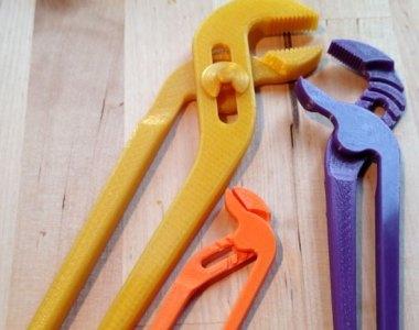 3D Printed Adjustable Pliers