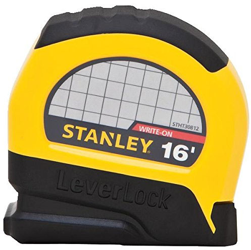 Stanley LeverLock Tape Measure 16-Foot