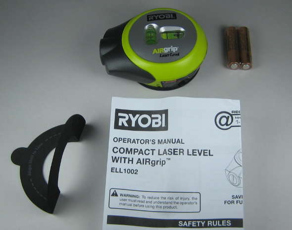 Ryobi AirGrip package contents