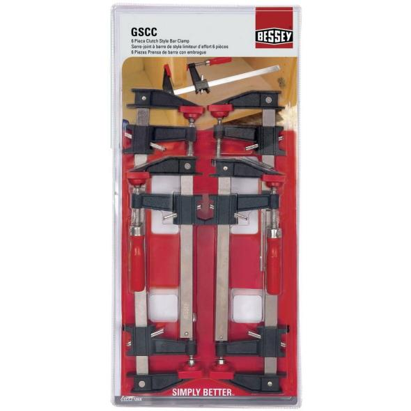 Bessey 6in clutch style clamps at Deal at Home Depot