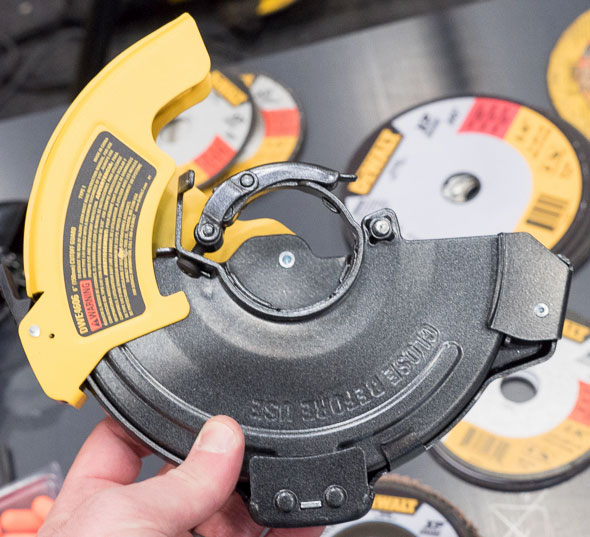 Dewalt Grinder Adjustable Cut-Off Wheel Guard