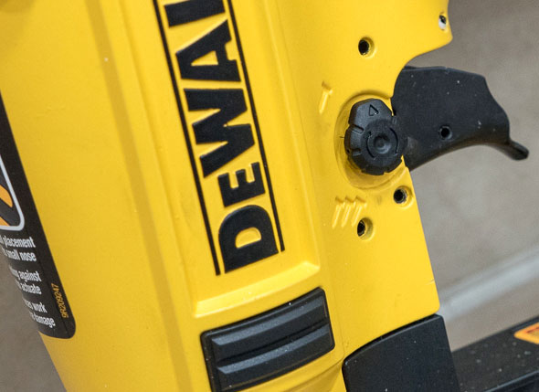 Dewalt Precision Point Nailer Switch