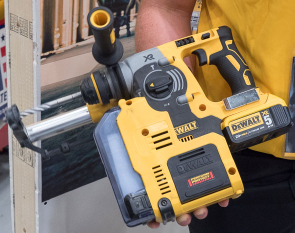 Dewalt Rotary Hammer Dust Extractor